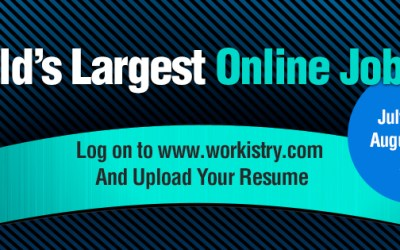 Hello Job Seekers! Workistry Set to Host Largest Annual Online Job Fair