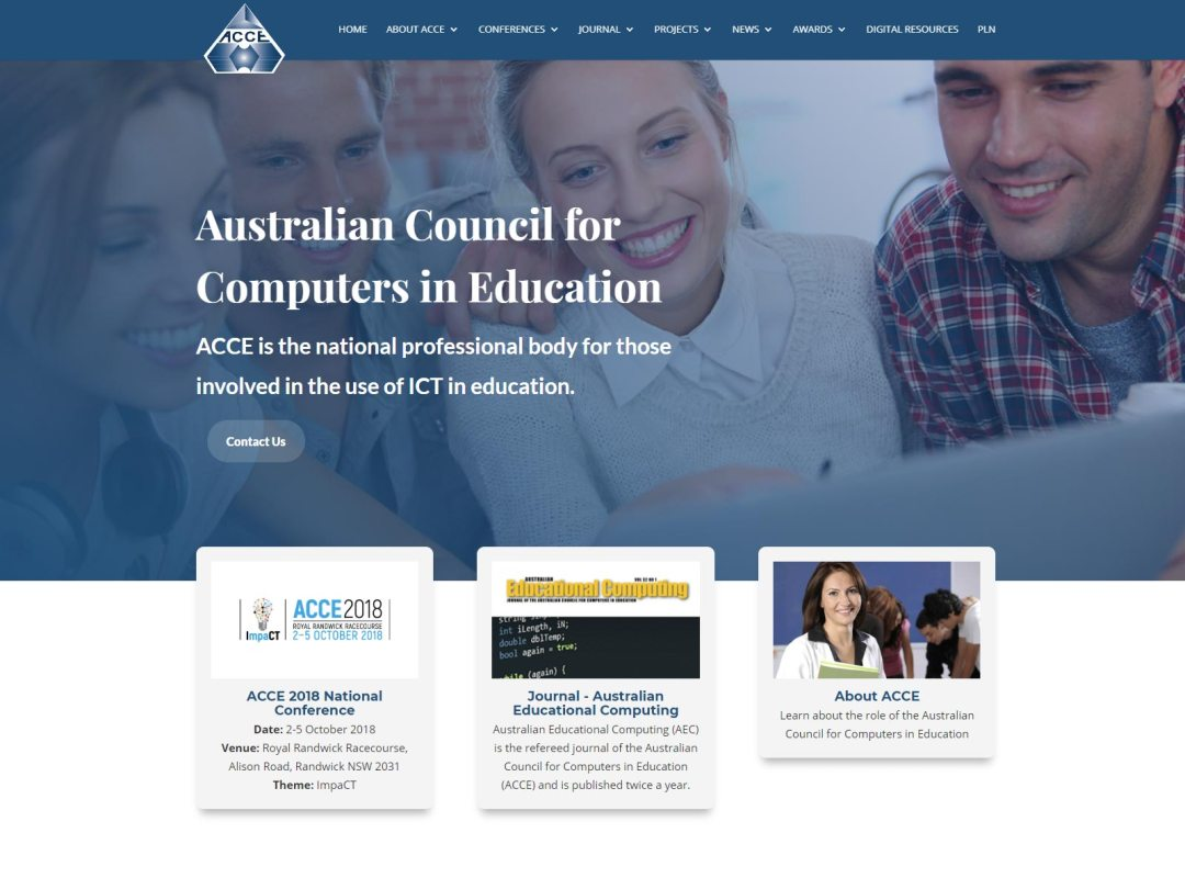 ACCE website
