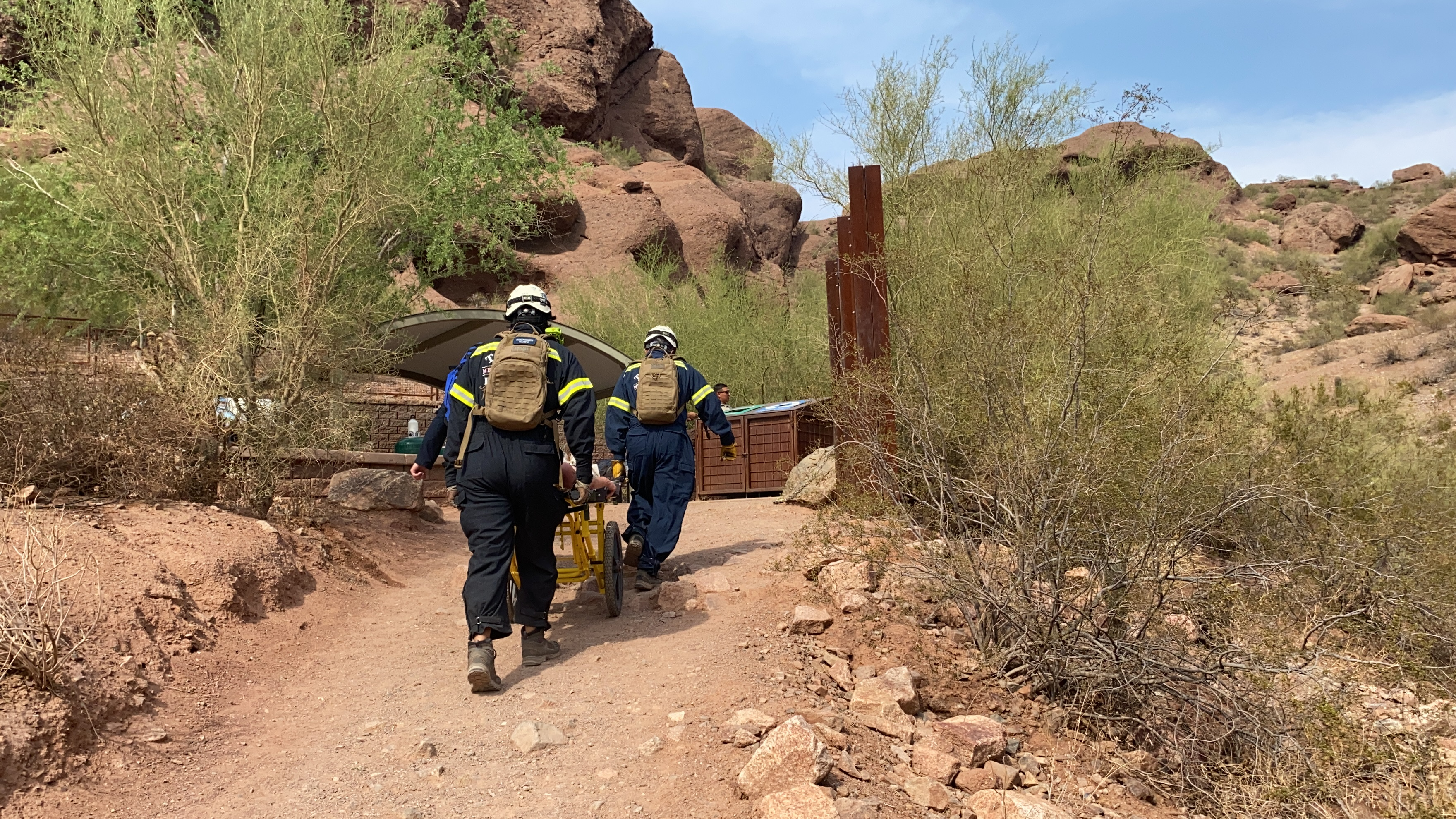 Normally i'm in the kitchen cooking on christmas but the year we did this, things were different. Overheated Hiker Rescued From Camelback Mountain