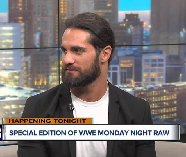 Wwe Superstar Seth Rollins Visits The Wxyz Studios On December 28 2018 Photo By Wxyz Tv