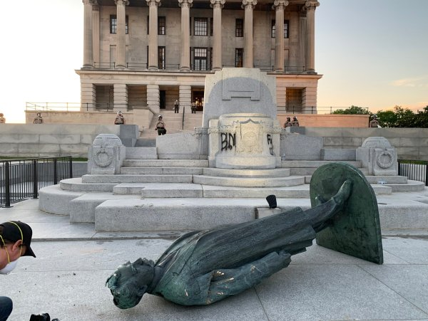 The history behind the Edward Carmack statue torn down during protest