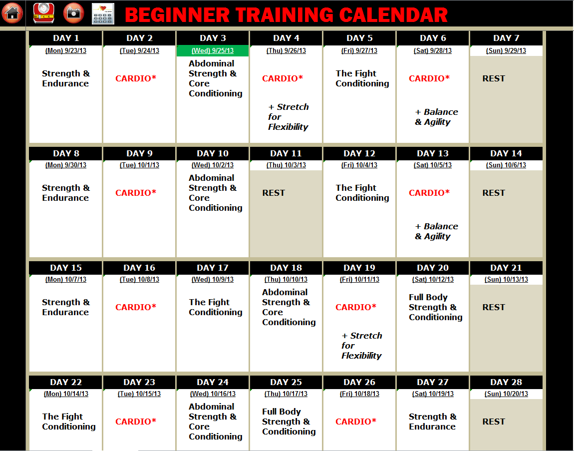 Excel Spreadsheet Workout Tracker Tool Amp Nutrition Guide