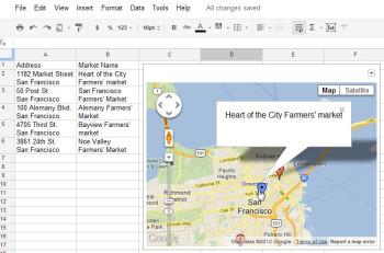 7 Great Google Spreadsheet Gadgets