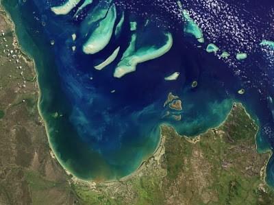 Reefs in Princess Charlotte Bay