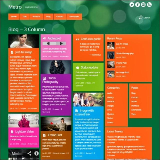 Themify Metro WordPress Theme