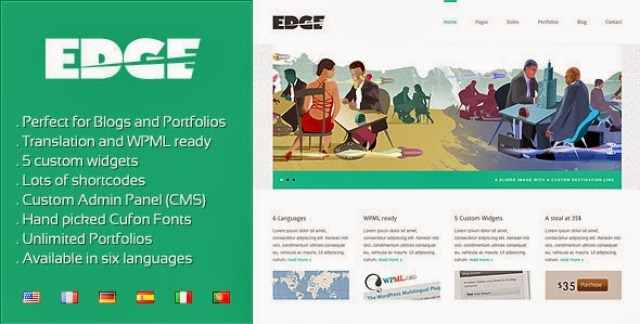Edge – Professional Corporate and Portfolio WP