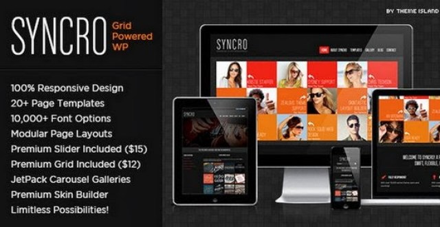 Syncro | Grid Powered WordPress