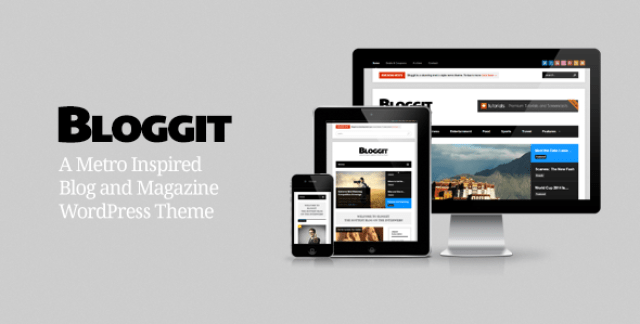 Bloggit – Responsive WordPress Blog,Magazine,News
