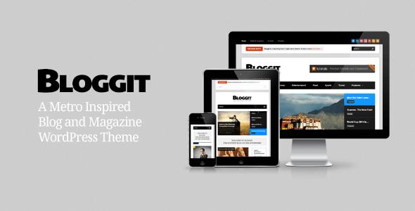 Bloggit – Responsive WordPress Blog,Magazine,News