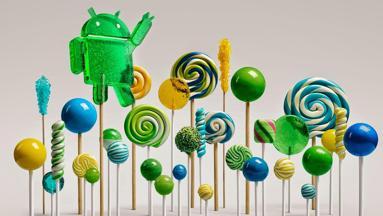 Android 5.0 Lollipop featured image. Credit to Google official blogspot