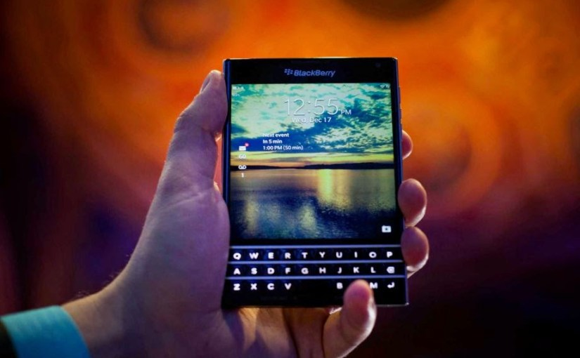 BlackBerry launches their Classic smartphone with a traditional keyboard