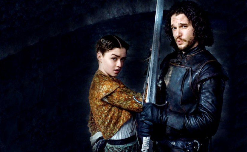 Jon Snow and Arya Stark Reunite in the first Episode of Game of Thrones Season 8