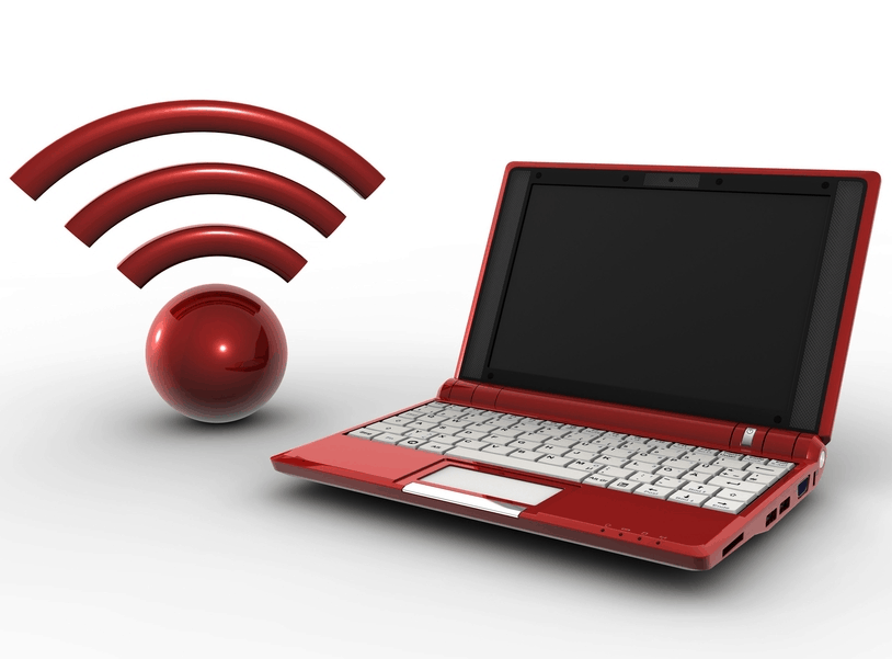 procedures to change wireless security on a laptop