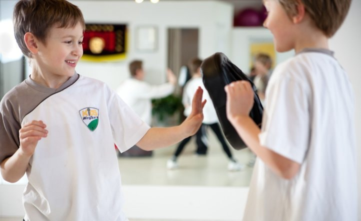Kids WingTsun - Pratzentraining