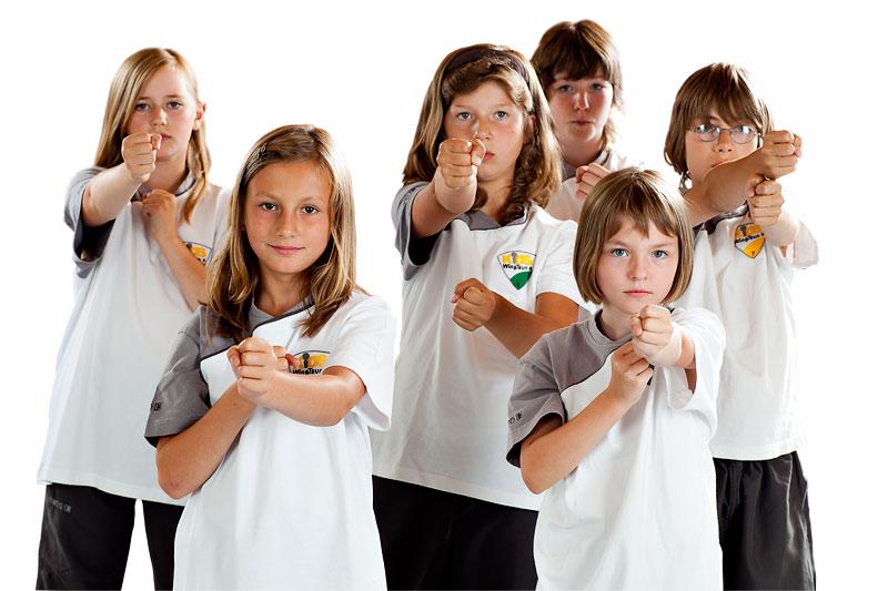 Selbstverteidigung für Kids WingTsun und WingTsun4Teens