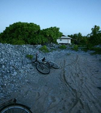 Tahiti – Manihi – sunset 夕焼けを見に