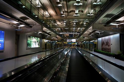 Suvarnabhumi International Airport バンコク・スワンナプーム国際空港
