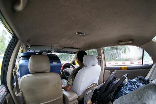 Bangkok – taxi バンコクのタクシー