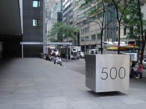 NY05: street, station