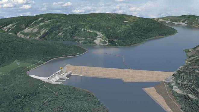site-c dam