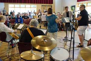Jazz Camp concert - Alice Huebener photo