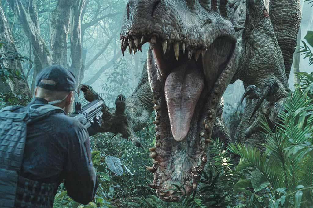 A T-Rex hybrid from Jurassic World