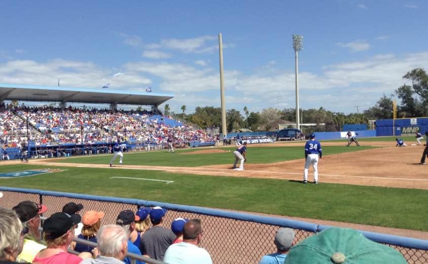 Blue Jays baseball Dunedin Florida