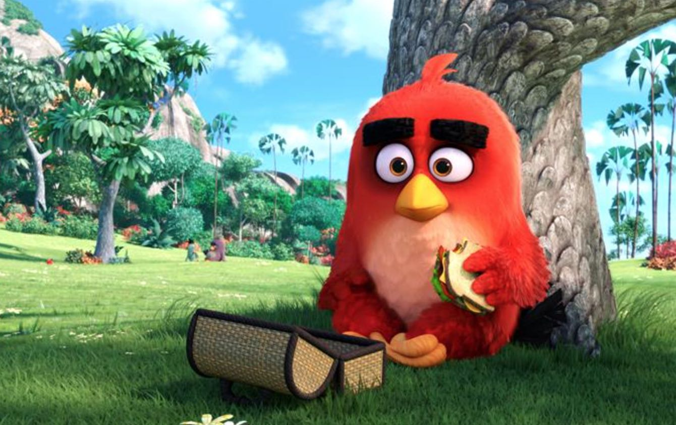 Angry Birds Red Jason Sudeikis