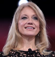 KellyAnne Conway: Her man is obsessed with skin.