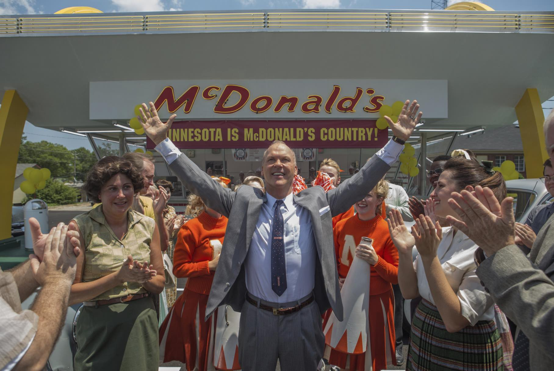 McDonald's Ray Kroc Michael Keaton Movie