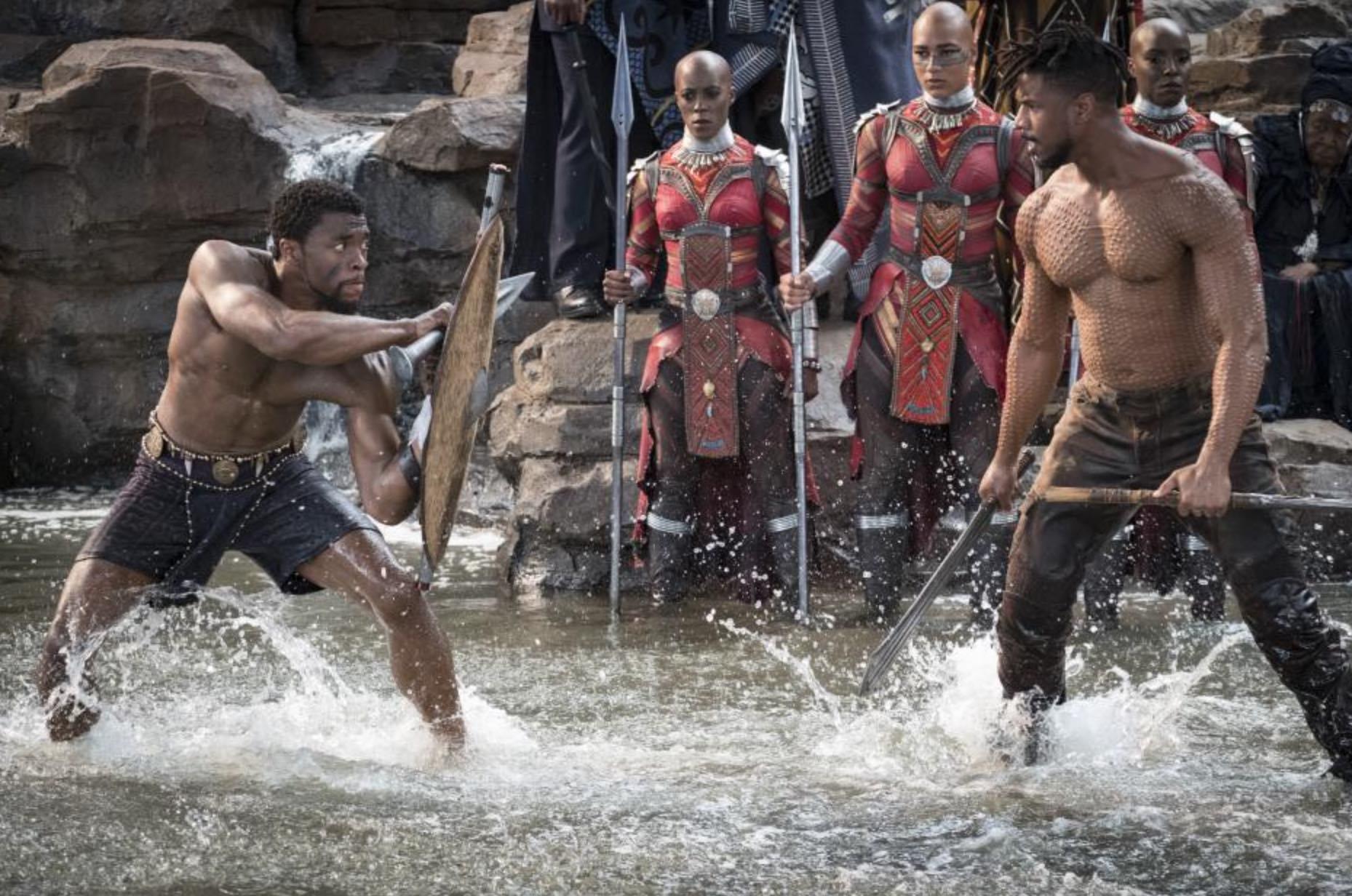 Black Panther Boseman Jordan
