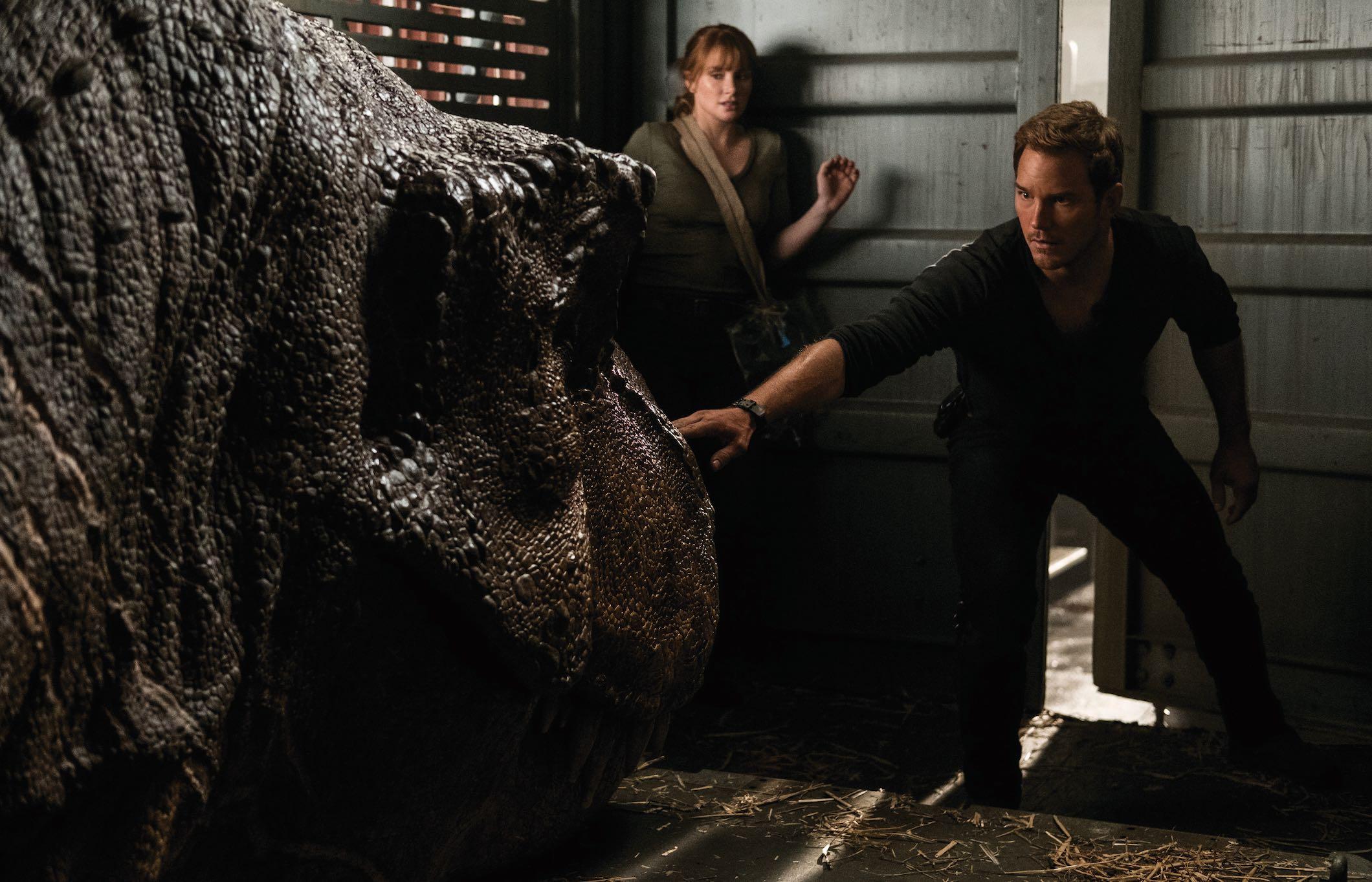 Jurassic World Fallen Kingdom Chris Pratt Bryce Dallas Howard Dinosaur