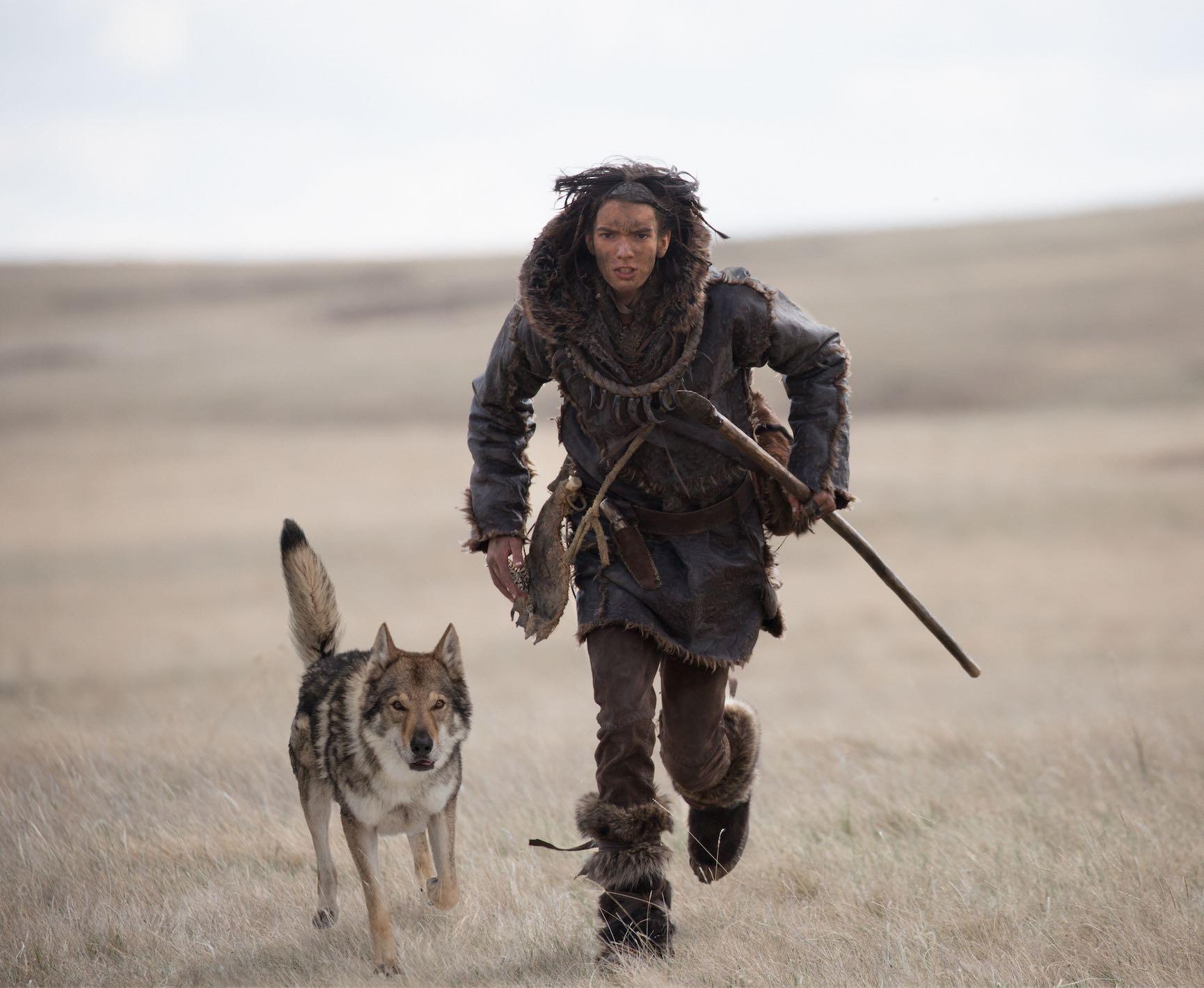 Dog wolf Alpha Chuck Kodi Smit McPhee