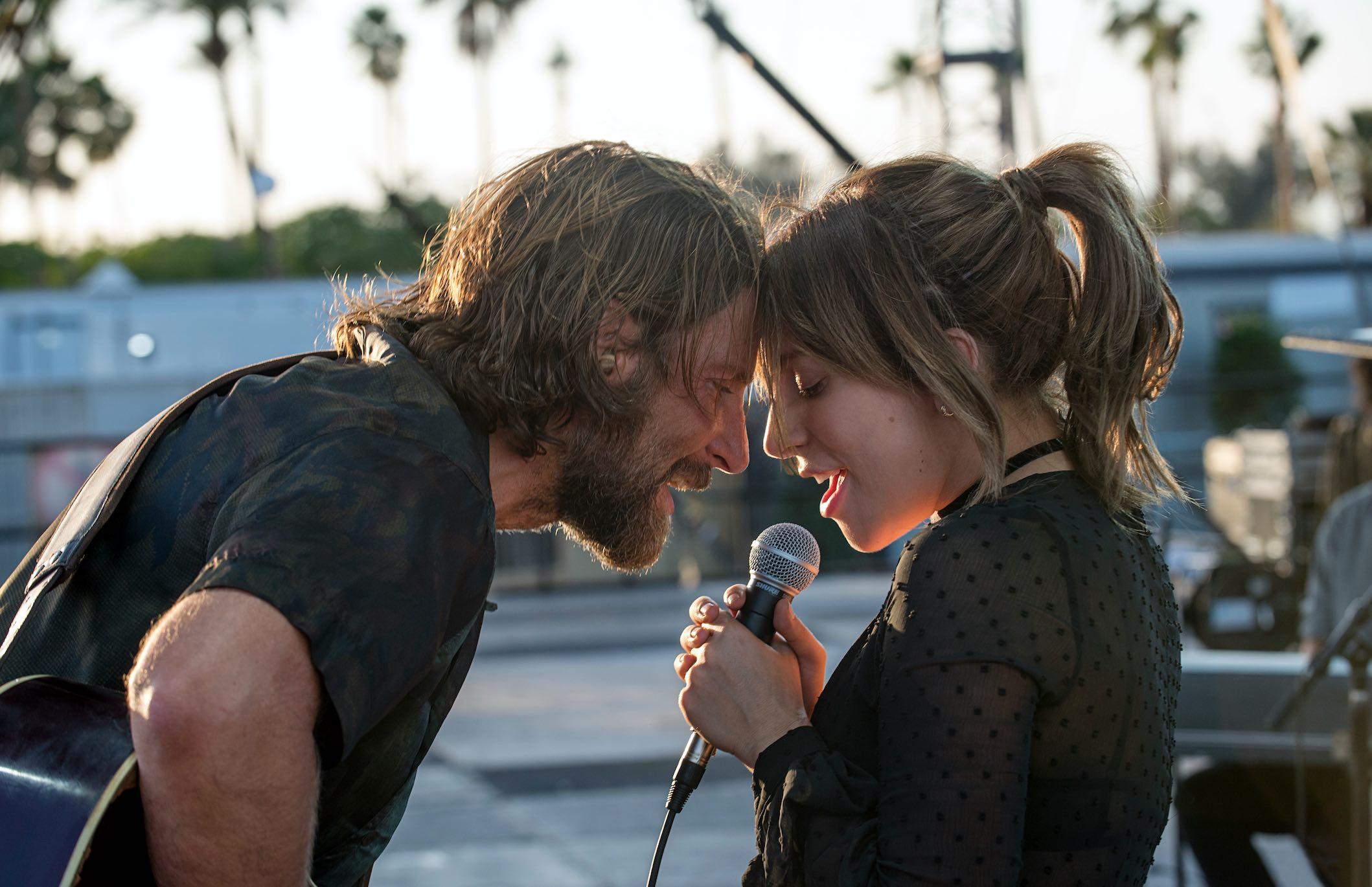 Star Is Born Movie Bradley Cooper Lady Gaga