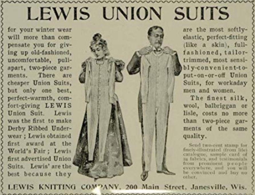 Union Suit underwear