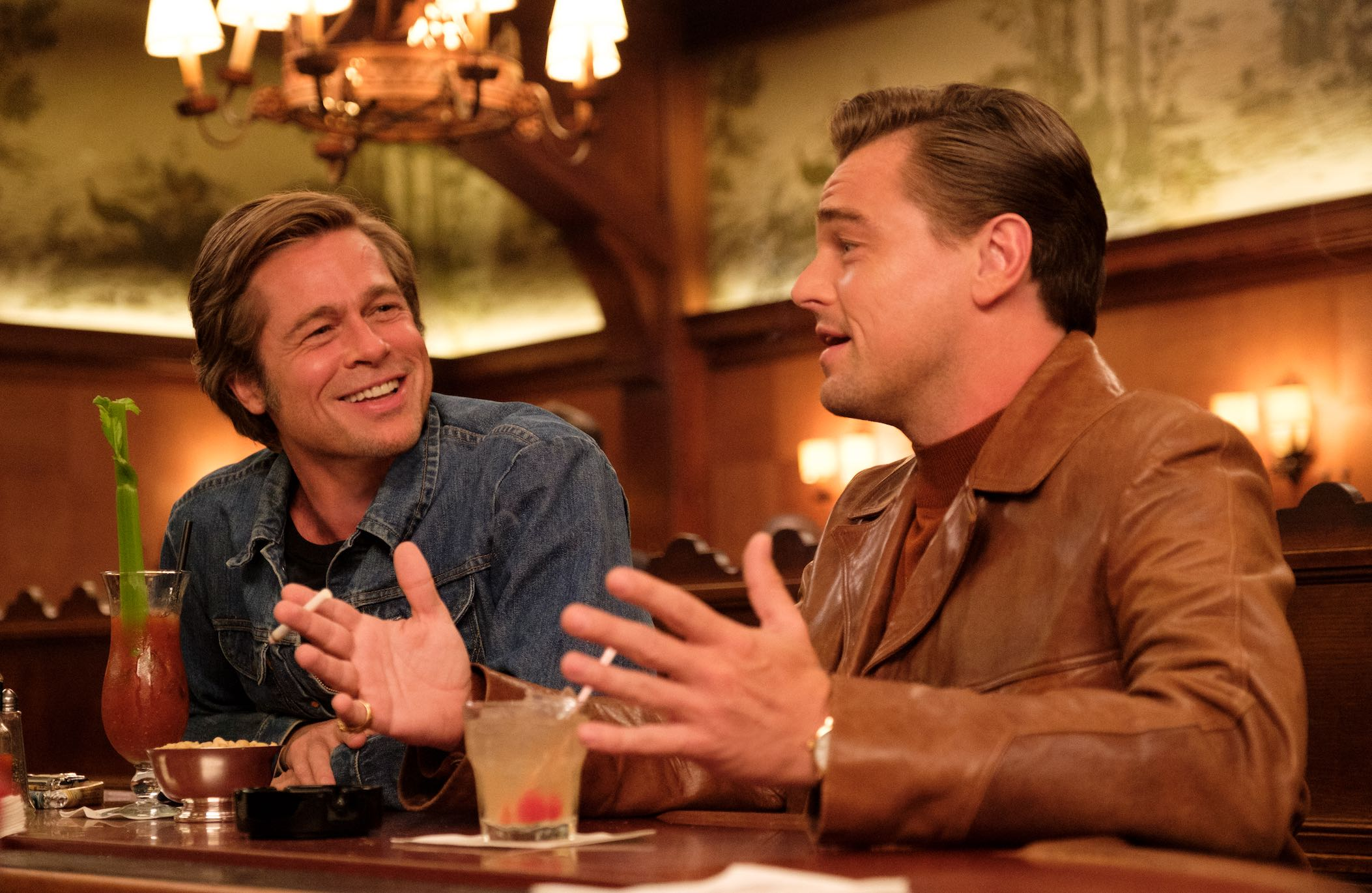 Once Upon a Time in Hollywood movie DiCaprio Pitt