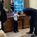 The Way I See It Pete Souza President Obama boy hair