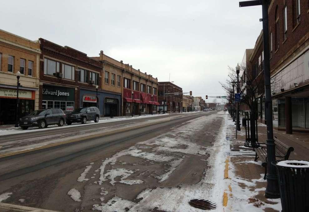 Downtown Hibbing Minnesota