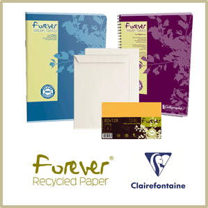 Forever Clairefontaine Notebooks, Correspondence and Envelopes