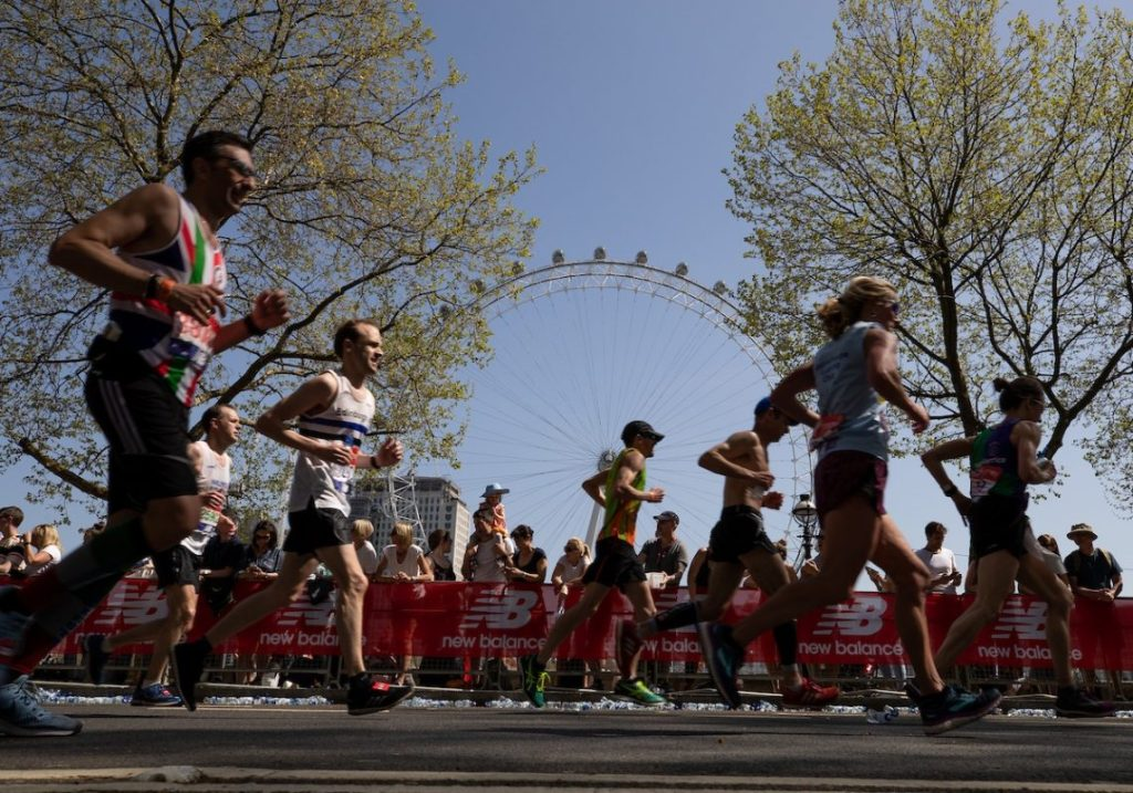 London Marathon Winners