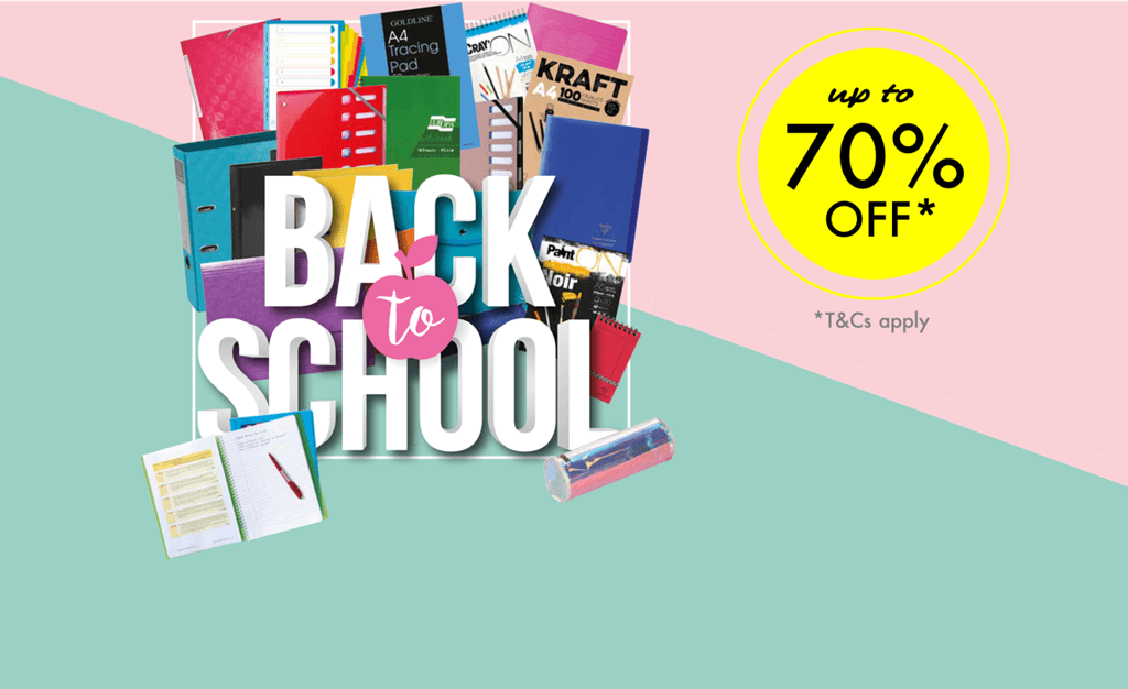 Revise your stock for 'Back to School'