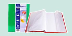 Exacompta 'Kover' book cover range for exercise books