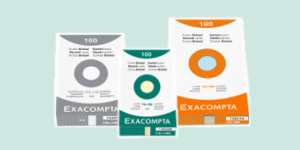 Exacompta Record and Revision Cards, available from ExaClair Limited