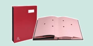 Exacompta Signature books, available from ExaClair Limited