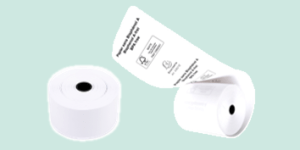 Exacompta Till and Receipt Rolls, suitable for tills, registers and credit card machines.