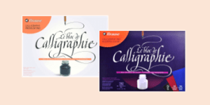 Brause Calligraphy Pads and Blocks, supplied by ExaClair