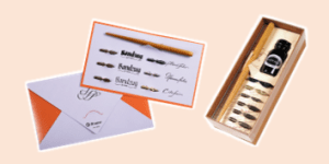 Brause Calligraphy gift sets, supplied by ExaClair