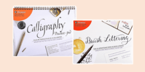 Brause Calligraphy and Brush Lettering Practice Pads