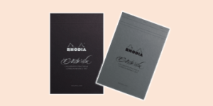 Rhodia PAScribe Paul Antonio Calligraphy Pad range, available from ExaClair Limited