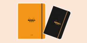 Rhodia Unlimited Smooth-Touch Notebook Range, available from ExaClair Limited